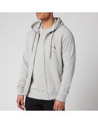 Calvin Klein Full Zip Hoody - Gray