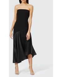 Bec & Bridge Natalia Strapless Dress - Black