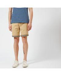 Pretty Green Preston Shorts - Natural