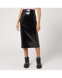 McQ Pu Skirt - Black