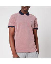 GANT Oxford Pique Polo Shirt - Pink