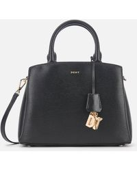 DKNY Paige Medium Satchel - Black