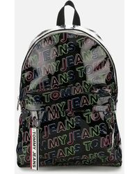 Tommy Hilfiger Logo Tape Backpack - Multicolour