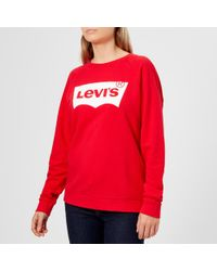 Levi's - Women's Relaxed Graphic Crew Neck Jumper - Lyst