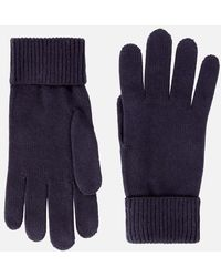 Tommy Hilfiger Essential Knitted Gloves - Blue