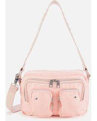 Nunoo Ellie Logo Sport Bag - Pink