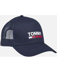 Tommy Hilfiger Trucker Cap - Blue