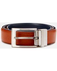Ted Baker Karmer Reversible Leather Belt - Blue