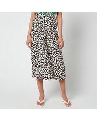 Whistles Giraffe Skirt - Black