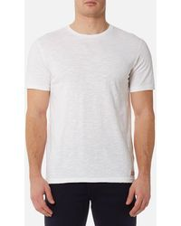 7 For All Mankind - Basic T-shirt - Lyst