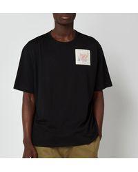 Ted Baker Nofan Embroidered Logo T-shirt - Black