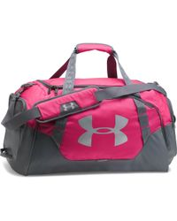 Under Armour - Undeniable 3.0 Medium Duffel Bag - Tropic Pink / Graphite / Silv Women's Travel Bag In Pink - Lyst