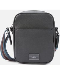 Ted Baker Porthos Mini Flight Cross Body Bag - Black