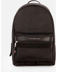 Tommy Hilfiger Elevated Nylon Backpack - Black