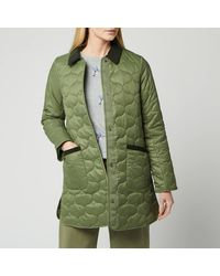 Barbour Modern Country Erin Quilted Jacket - Green