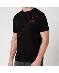 Armani Exchange Line Logo T-shirt - Black