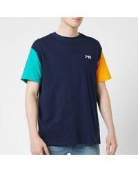 Tommy Hilfiger Colour Block T-shirt - Blue