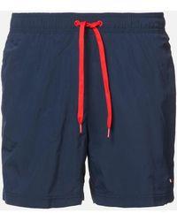 Tommy Hilfiger Small Logo Swim Shorts - Blue