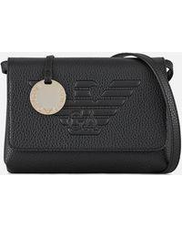Emporio Armani Roberta Cross Body Bag - Black