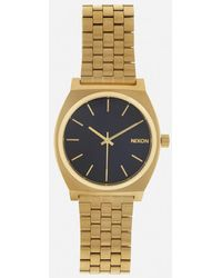 Nixon Men's The Time Teller Watch - Metallic