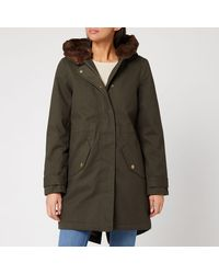 Joules Piper Parka - Green