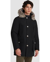 Woolrich Arctic Fur Collar Parka - Black