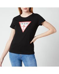 Guess Short Sleeve Original T-shirt - Black