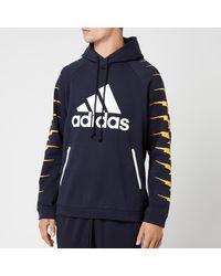 adidas Id Fl Grfx Hoodie - Black