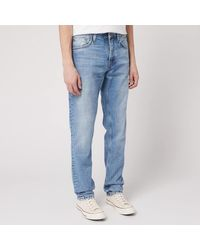 Nudie Jeans Steady Eddie Lin Jeans - Blue