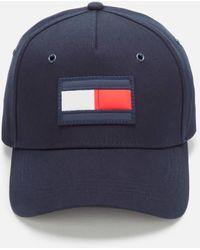 Tommy Hilfiger Big Flag Cap - Blue