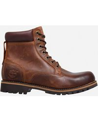 Timberland Earthkeepers Rugged Waterproof Boots - Brown