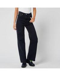 Levi's Ribcage Wide Leg Jeans - Black