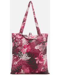 Radley Botanical Floral Foldaway Tote Bag - Multicolour