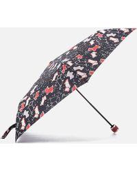 Radley Speckle Dog Mini Telescopic Umbrella - Multicolor