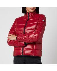 HUGO Famoni-1 Padded Jacket - Red