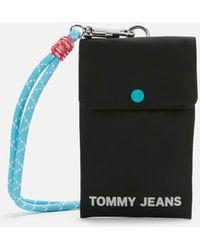 Tommy Hilfiger Nautical Mix Phone Pouch - Black