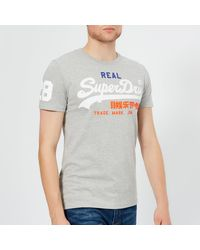 Superdry Vintage Logo Tri T-shirt - Grey