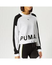 PUMA Sweatshirt - White