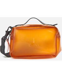 Rains Box Bag Micro - Orange