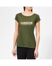 Barbour - Court T-shirt - Lyst