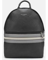 Ted Baker Agro Webbing Backpack - Black