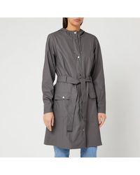 Rains Curve Jacket - Gray
