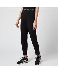 Calvin Klein Logo Sleep Joggers - Black
