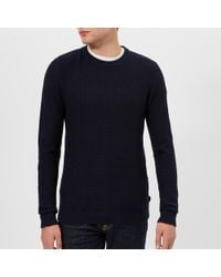 Ted Baker - Percypi Crew Neck Knitted Jumper - Lyst