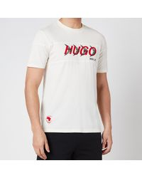 HUGO X Liam Payne Dappel T-shirt - White