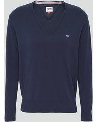 Tommy Hilfiger Tjw V-neck Sweater - Blue
