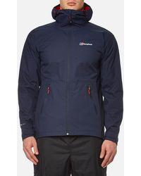 Berghaus Stormcloud Hydroshell Jacket - Blue