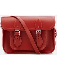 Cambridge Satchel Company Women's Mini Magnetic Satchel - Red