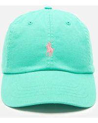 Polo Ralph Lauren Cotton Chino Classic Sport Cap - Green