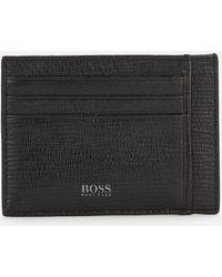 BOSS Cosmopole Card Holder - Black